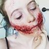 Chelsea Smile Zombie Makeup (Part 1)