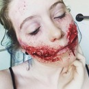 Chelsea Smile Zombie Makeup (Part 1)