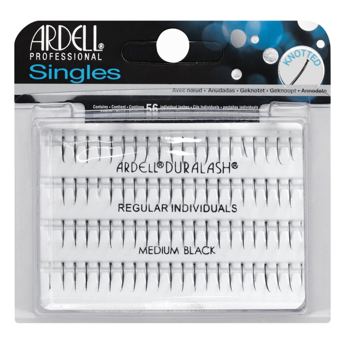 Ardell Individuals Single Knotted  Regular Medium Black alternative view 1.