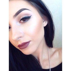 Anastasia BH cream contour & liquid lipstick in Veronica