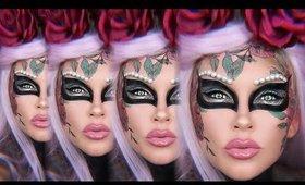 Halloween Makeup: Dia De Los Masquerade