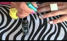 How To Create Zebra Print Nail Art