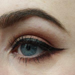 Makeup Geek shadows and Kat Von D liner