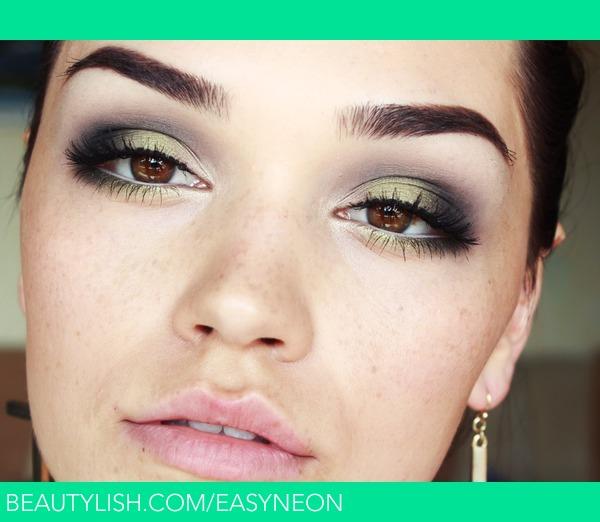 Olive Green Smokey Eyes Diana C S Easyneon Photo