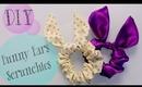 DIY TopShop Bunny Ears Scrunchie {Easter gift Idea}