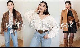 My Outfits of the week. November. London