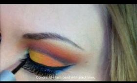 "Hunger Games Inspired Makeup - Katniss Everdeen, ""The Girl Who Was on Fire"""
