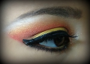Makeup Detail for Andrea photoshoot.