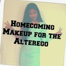 Homecoming Makeup for the Alterego