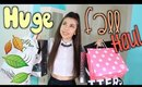 HUGE Fall Haul 2014: Victoria Secret, PacSun, & Urban Outfitters!