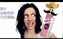 How to: Dry Shampoo Tutorial Batiste Dry Shampoo XXL Volume