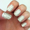 silver dots