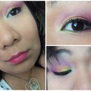Bright Colorful Spring look
