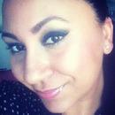 No Foundation, smokey eye and pink lip gloss