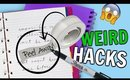 6 WEIRD SCHOOL DIYS + Hacks You've NEVER Seen Before!!