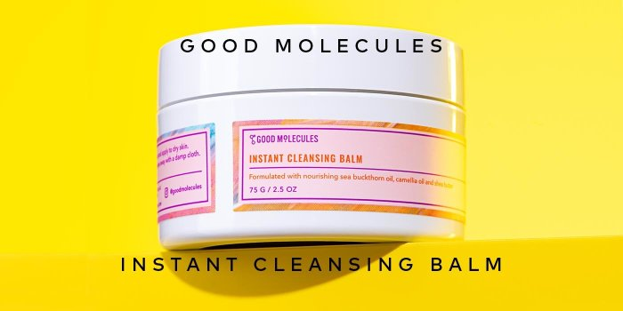Get on the list for the new Good Molecules Instant Cleansing Balm.