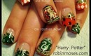 HARRY POTTER NAIL DESIGN: robin moses nail art tutorial