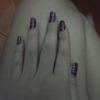 Tribal inspired nail art