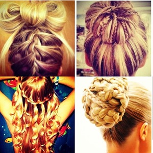 This hair was ALOT of work by:Kariola Bresh she is very talented!!!!