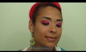 DIYB - Pink Eye Makeup w/ Tight Lining