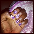 Purple mix and match inspired by #cutepolish