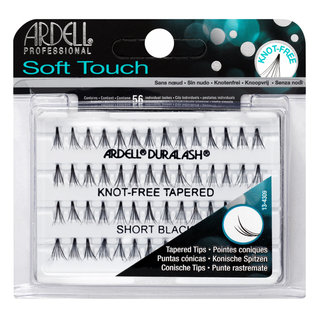 Soft Touch Individuals Knot-Free Lashes Short Black