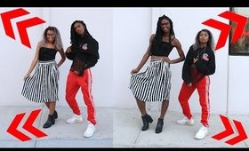 WATCH ARI FITZ DRESS ME [[ OUTFIT SWAP ]]