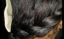 ❉ ❉ Holiday Hair On a Natural Hair Blow Out ❉ ❉