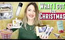 CHRISTMAS HAUL VIDEO What I got for Christmas from boyfriend, family and future in laws