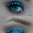Glitter me blue
