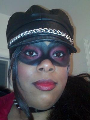 Halloween 2011: Masked Hell's Angel