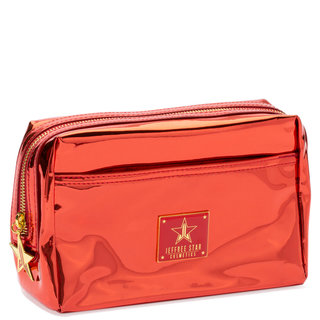 Reflective Makeup Bag Red