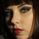 Dark Green Cat Eye