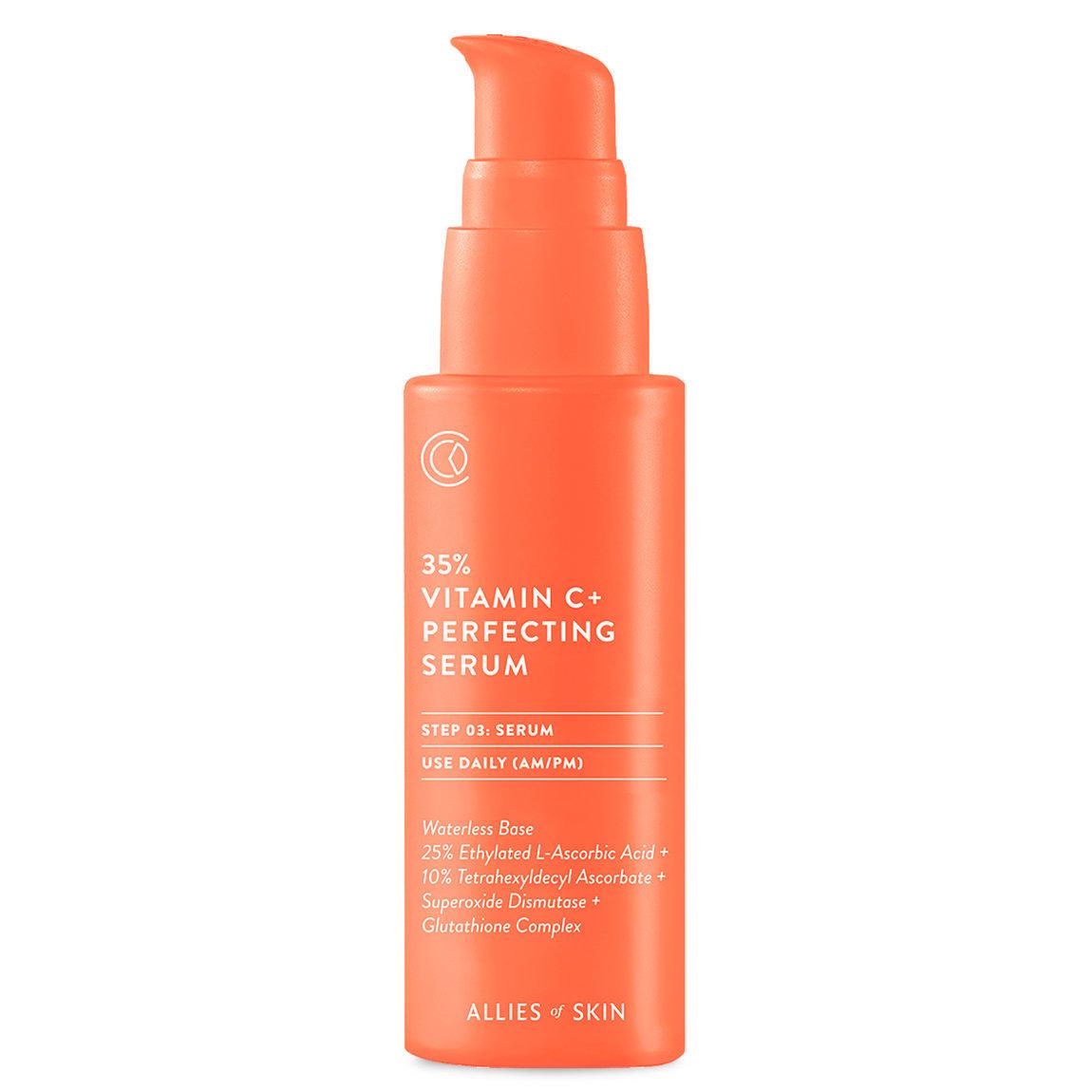 Allies of Skin 35% Vitamin C+ Perfecting Serum alternative view 1 - product swatch.