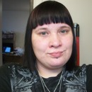 I cut my own hair after dying my bangs purple.