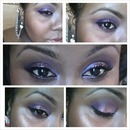 purple wedding makeup