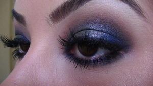 Blue Green Metallic Eyes