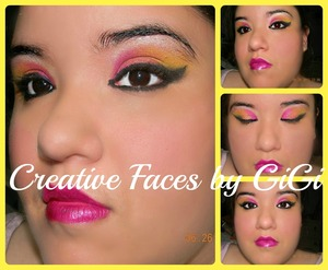 fun bright look for summer