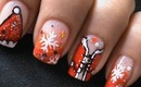 Sexy Santa Girls - Christmas Nail Art Tutorial - Easy Nail Polish Designs Long / Short Nails Cute