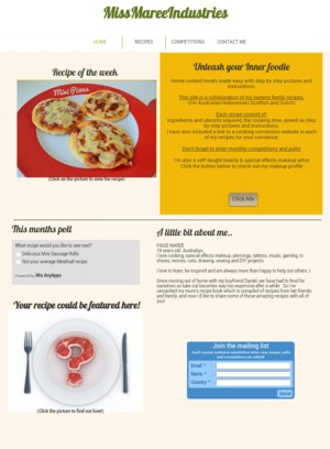 http://missmareeindustries.wix.com/recipes