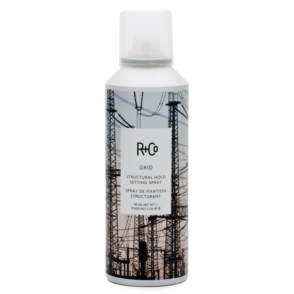 R+Co Grid Structural Hold Setting Spray alternative view 1 - product swatch.