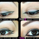 How to double wing liner- Rihanna style