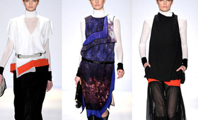 New York Fashion Week, Fall 2011: Maybelline at BCBG Max Azria