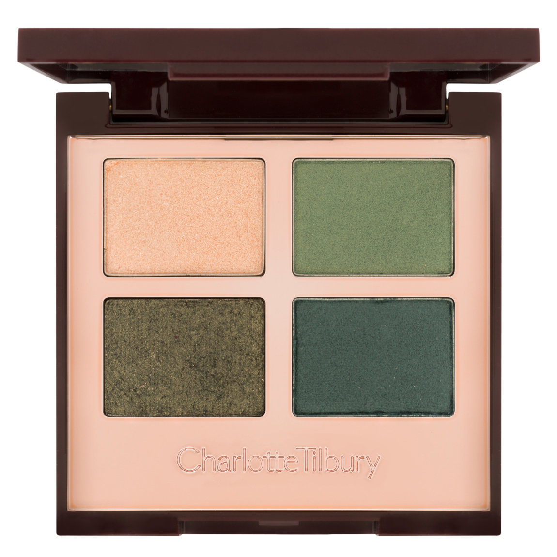 Charlotte Tilbury Luxury Palette The Rebel product swatch.