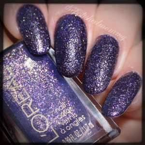 Swatch and review on the blog: http://www.thepolishedmommy.com/2014/01/loreal-sexy-in-sequins.html #loreal #purchasedbyme
