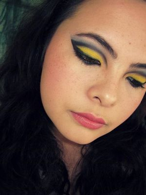"Inspired/ copied from ""Vintage or Tacky"" Sailor Moon make-up"