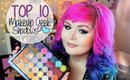 Top 10 Favorite Makeup Geek Shadows