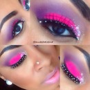 Bright and Bold Glitter New Years Look!