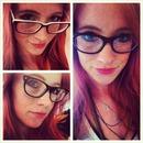 rocking my new glasses