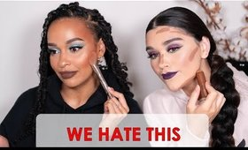 WE HATE THESE MAKEUP LOOKS ON US. A super chatty GRWus feat @yemani_elise